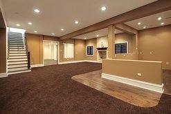 Dix Hills basement finishing